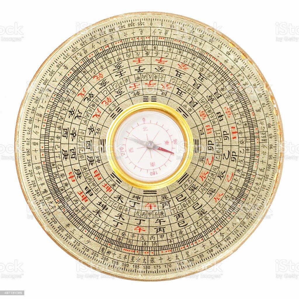 Luopan - Feng Shui Compass stock photo