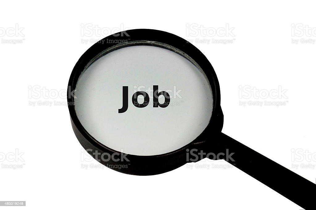 Lupe Job stock photo
