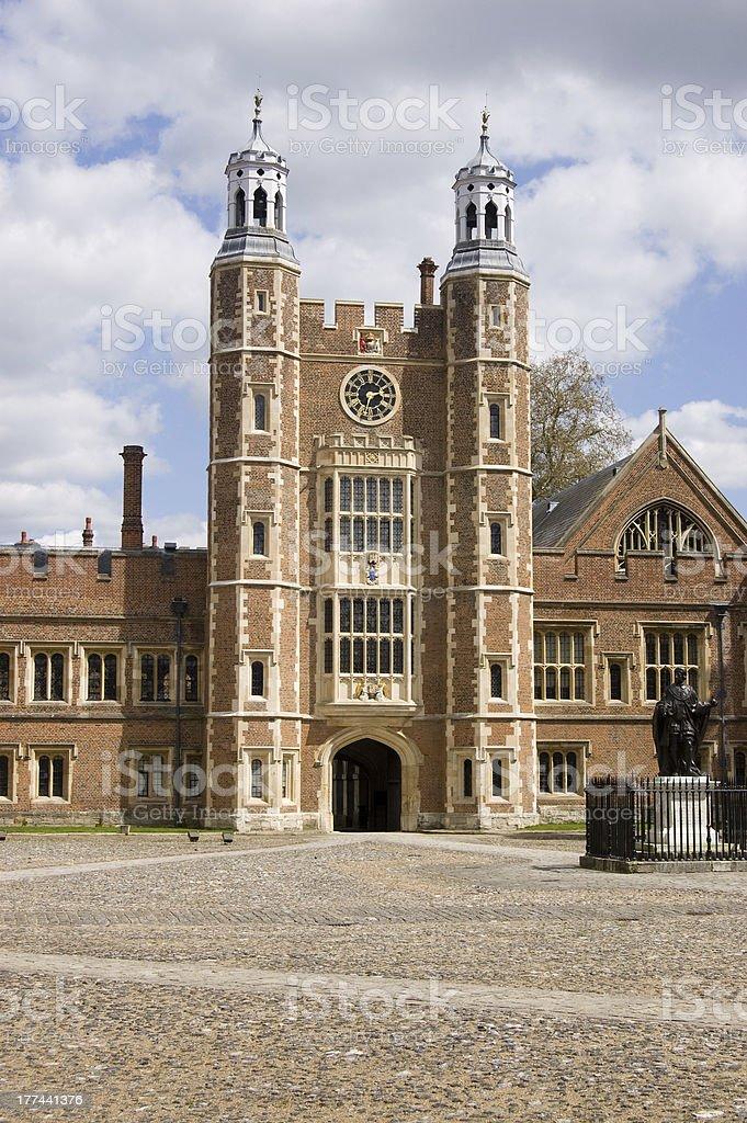 Lupton's Tower, Eton College, Berkshire stock photo