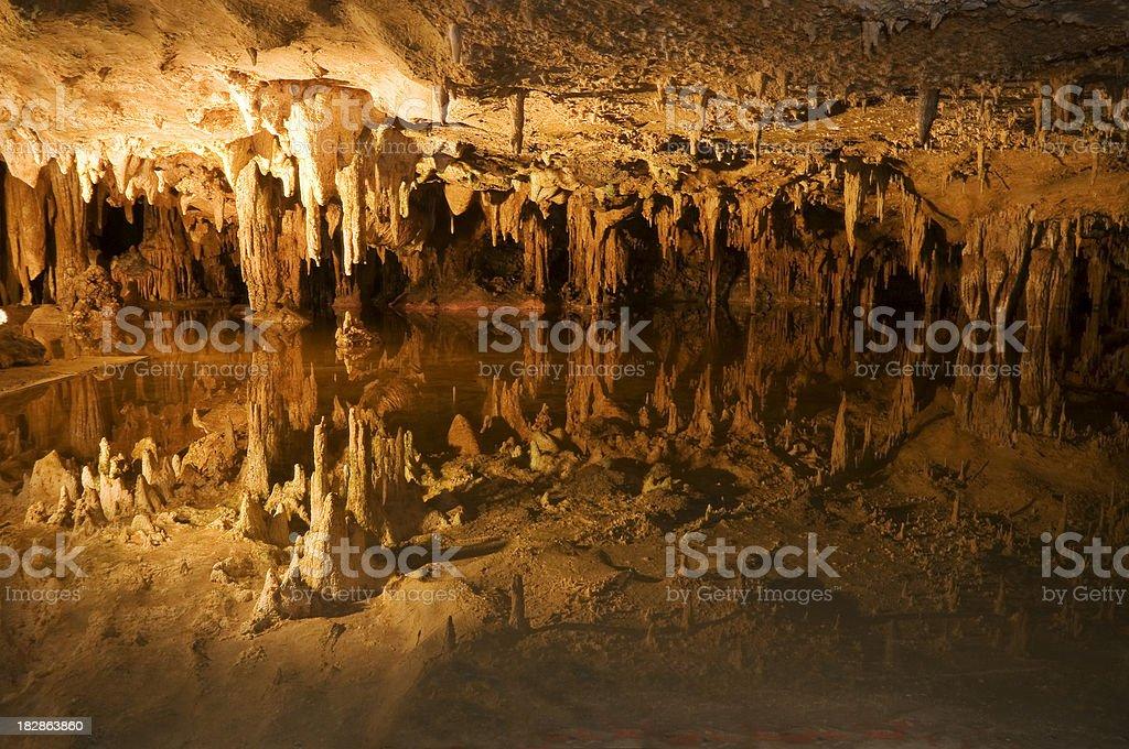 Luray Caverns stock photo