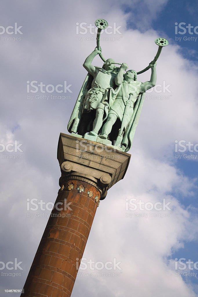 Lure Blowers in Copenhagen royalty-free stock photo