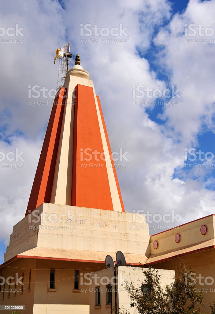 Lusaka Hindu Temple, Zambia stock photo