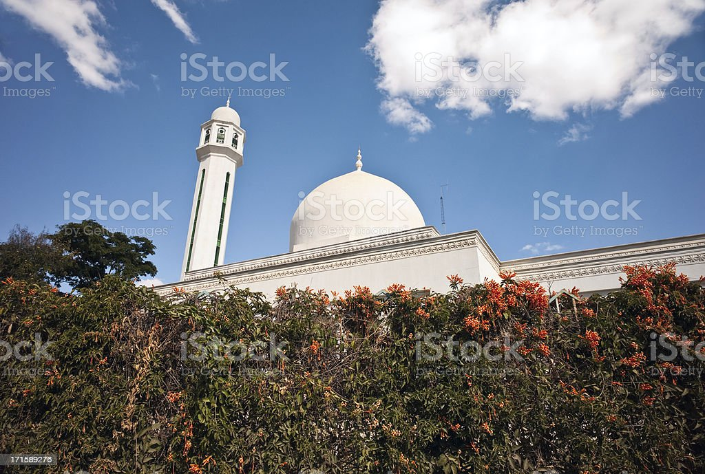 Lusaka Mosque stock photo