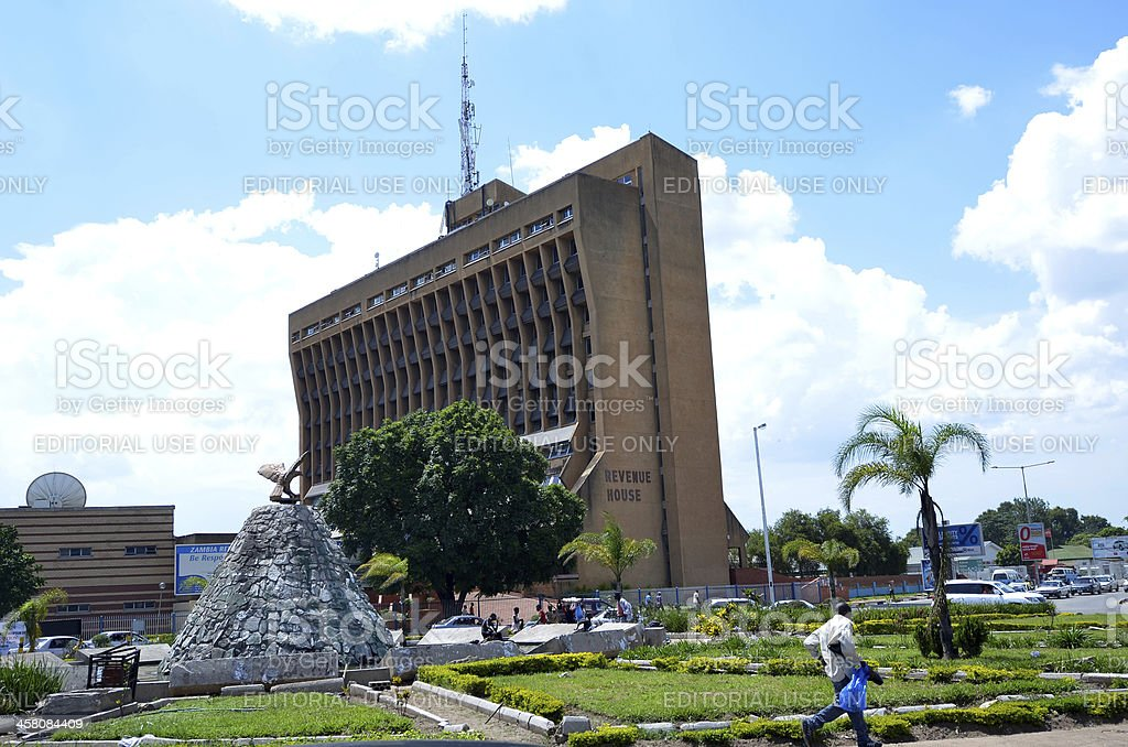 Lusaka stock photo