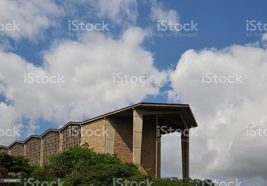 Lusaka, Zambia: Anglican Cathedral stock photo