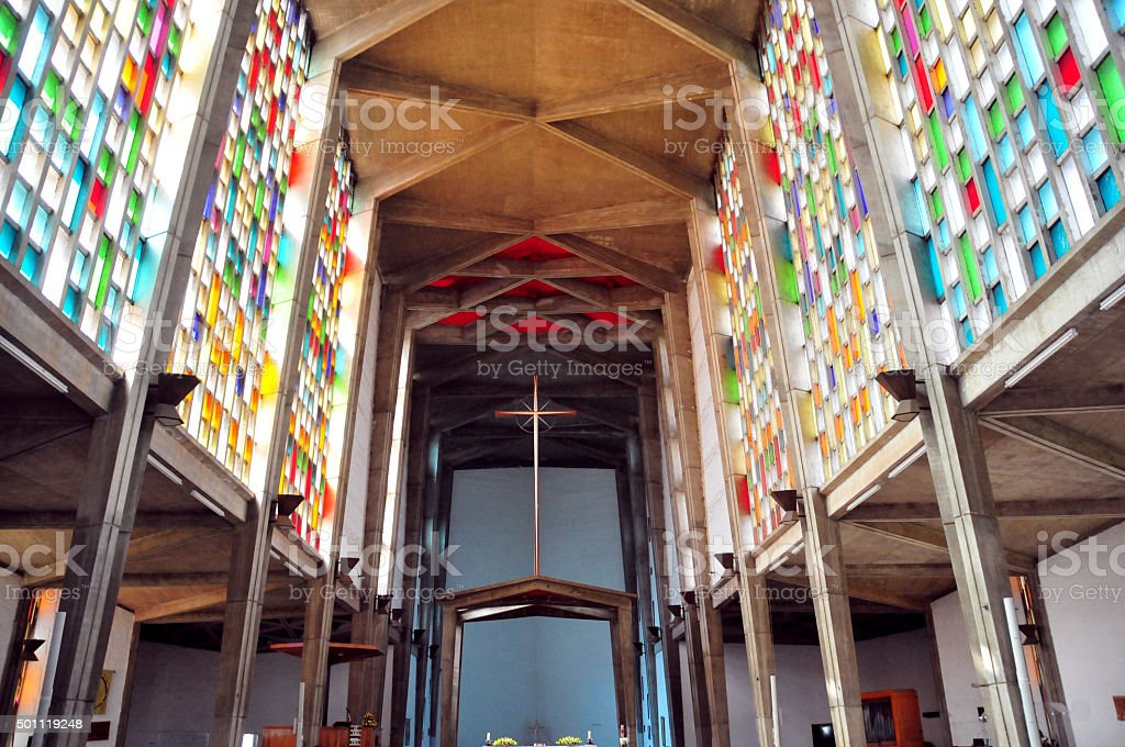 Lusaka, Zambia: Anglican Cathedral stock photo