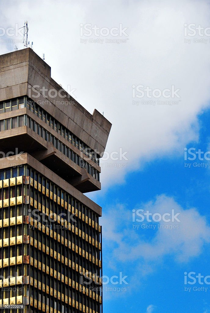Lusaka, Zambia: Findeco House stock photo