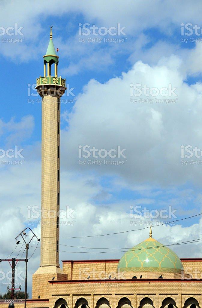 Lusaka, Zambia: Friday Mosque, Jaame Masjid stock photo