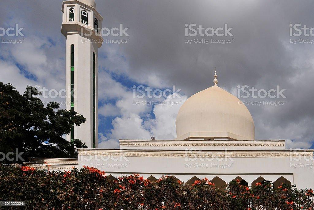 Lusaka, Zambia: Omar mosque stock photo