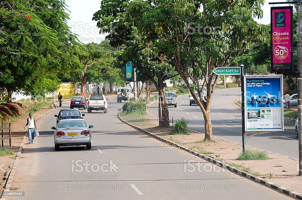 Lusaka - Zambia stock photo
