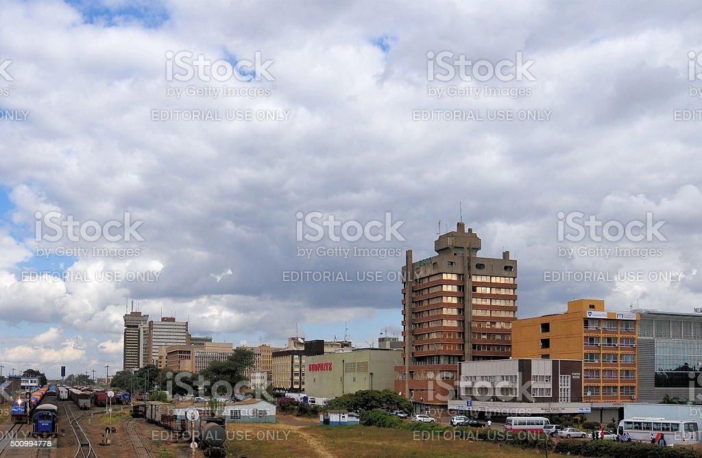 Lusaka, Zambia: skyline stock photo