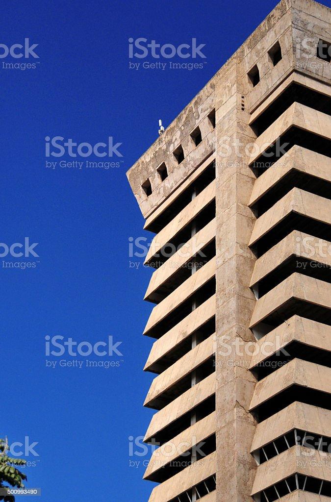 Lusaka, Zambia: skyscraper stock photo