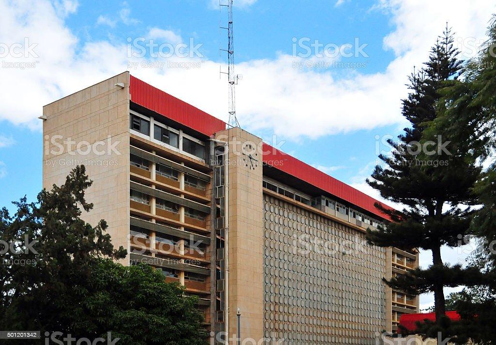 Lusaka, Zambia: university - Evelyn Hone College stock photo