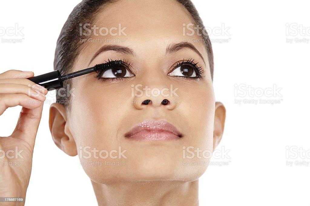 Luscious lashes royalty-free stock photo