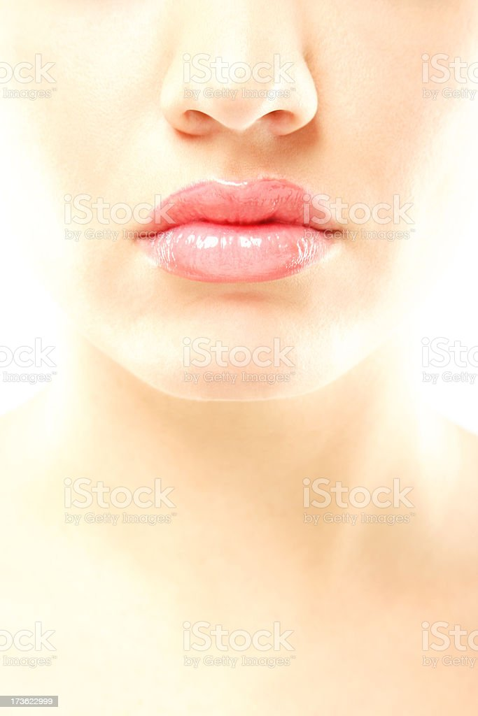 Luscious lips royalty-free stock photo