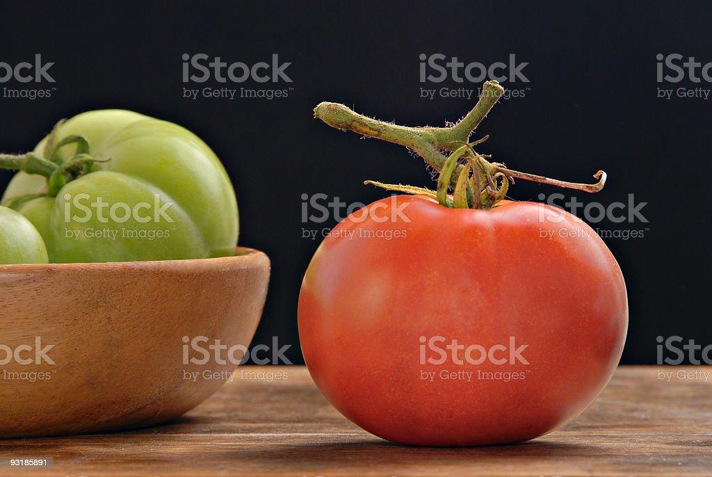 Luscious tomato royalty-free stock photo