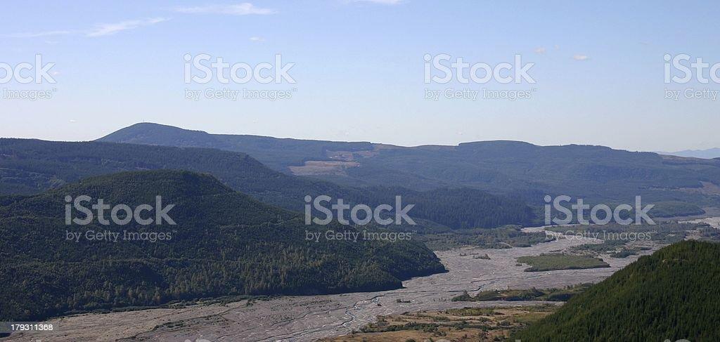 lush hills royalty-free stock photo
