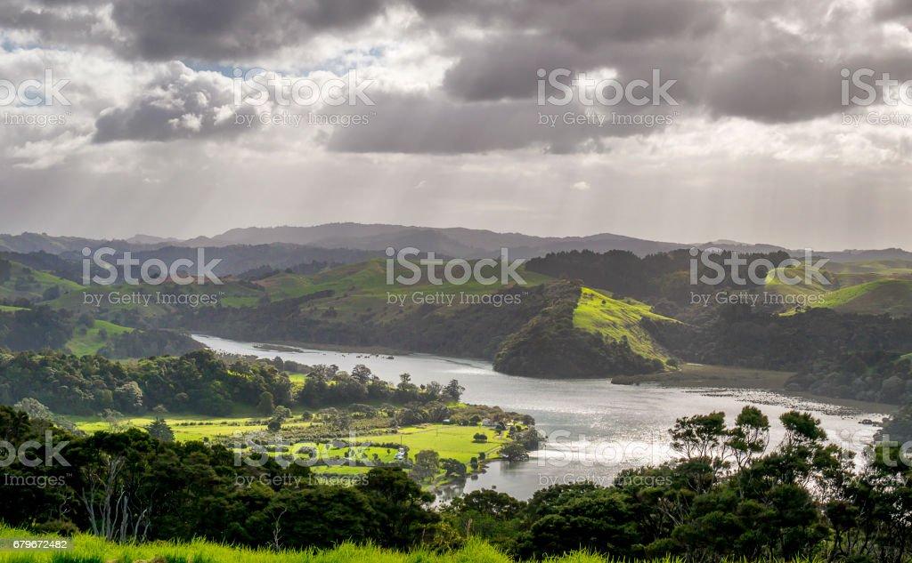 Lush Landscape stock photo