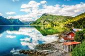 Lustrafjorden - the innermost arm of Sognefjorden