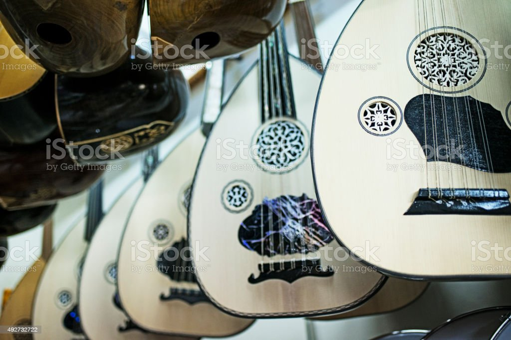 Lutes For Sale stock photo