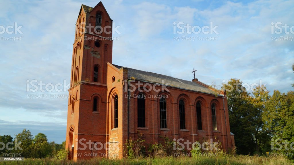 Lutheran Church (1877) stock photo