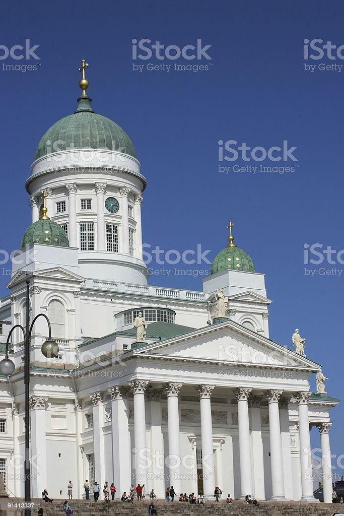 Lutheran Church royalty-free stock photo
