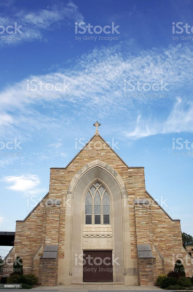 Lutheran Church stock photo