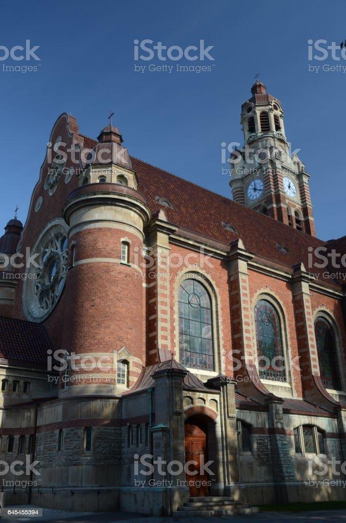 Lutheren Church stock photo