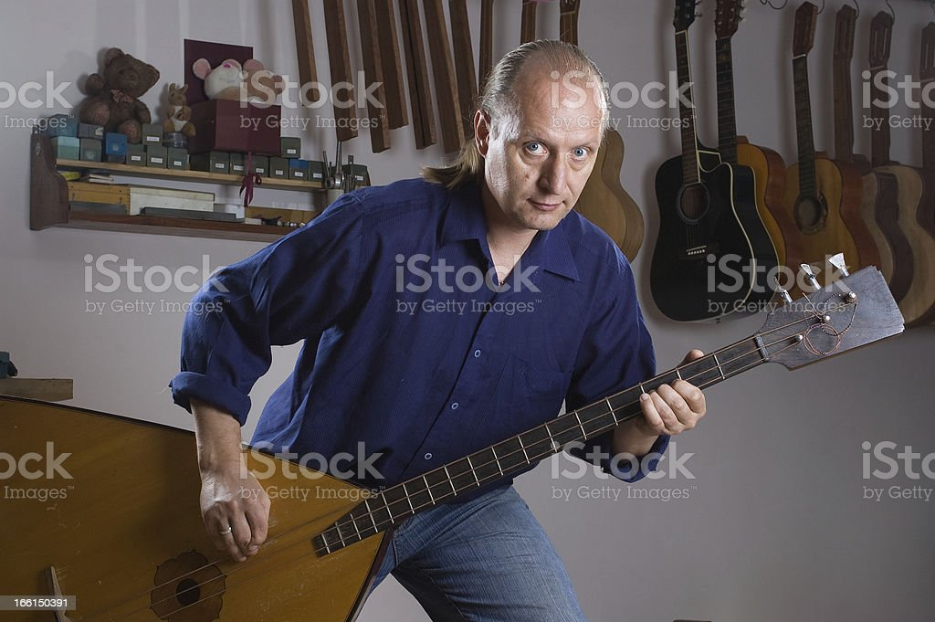 luthier stock photo