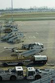 Luton Airport ground equipment