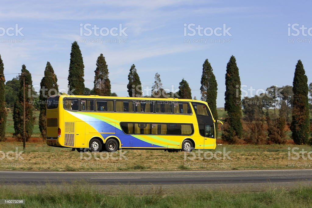 Luxary Bus stock photo
