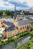 Luxembourg City Lower Town Grund Quarter