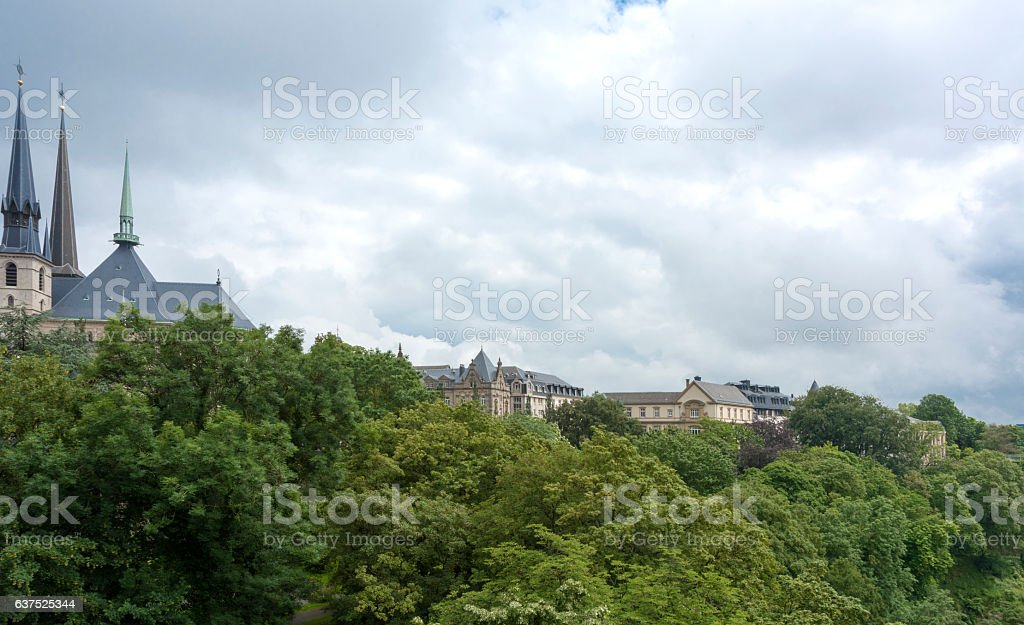 Luxembourg City stock photo