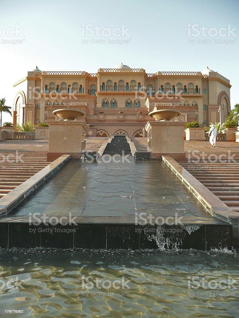 luxery Emirates Palace VAE stock photo
