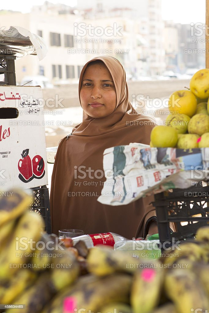 Luxor fruit stall royalty-free stock photo