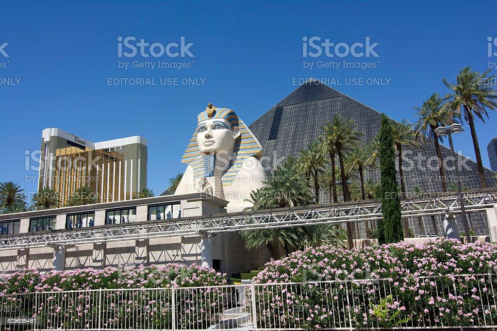 Luxor Hotel and Casino stock photo