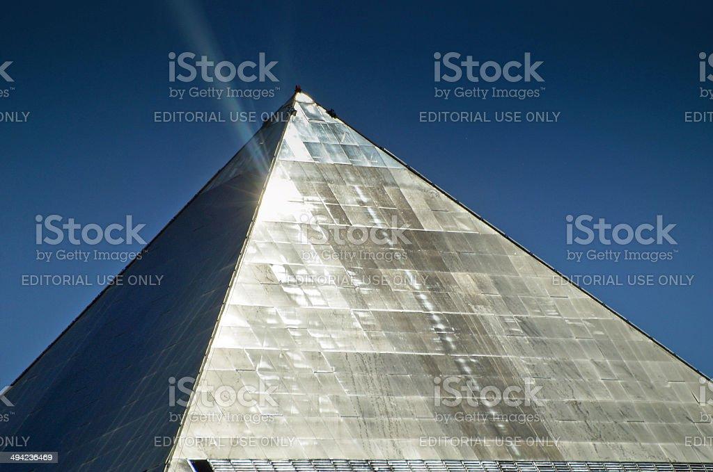 Luxor hotel in Las Vegas stock photo