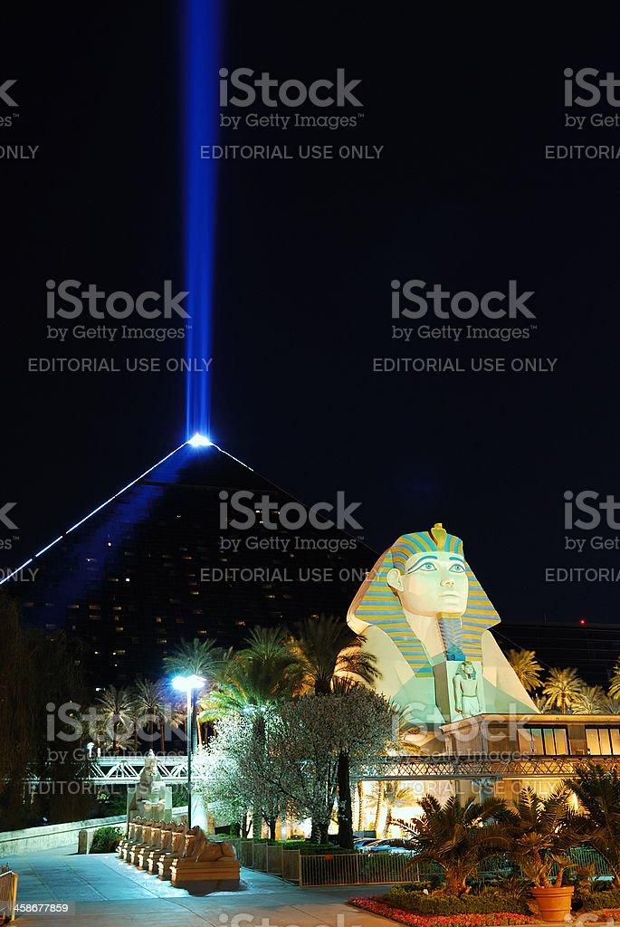 Luxor Hotel, Las Vegas stock photo