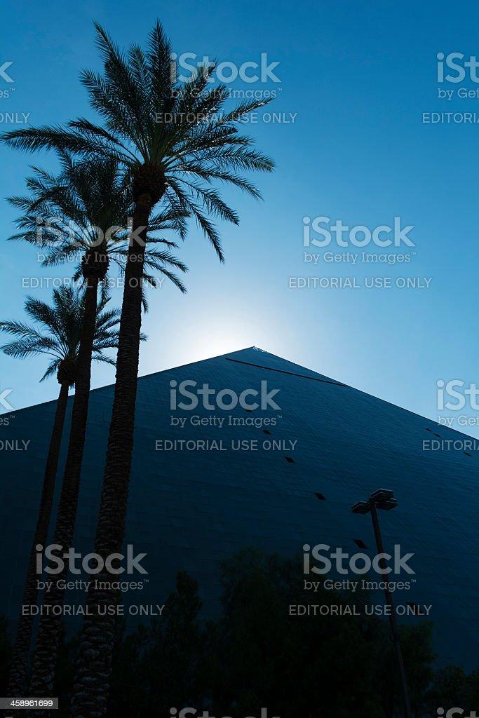 Luxor hotel Las Vegas stock photo
