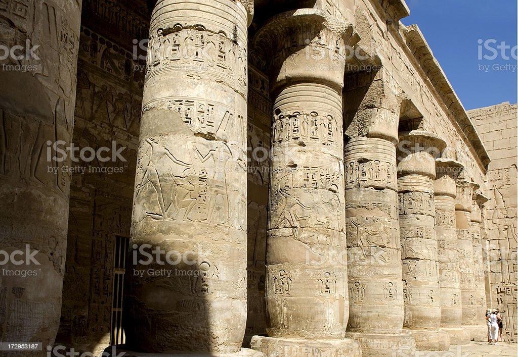 Luxor temple Egypt royalty-free stock photo