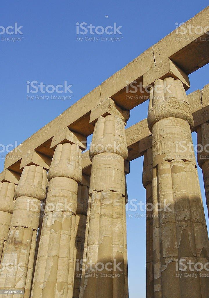 Luxor temple, Egypt royalty-free stock photo