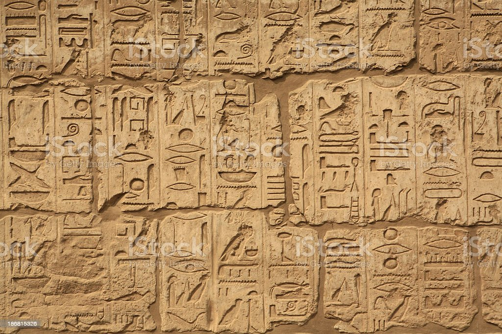 Luxor Temple royalty-free stock photo