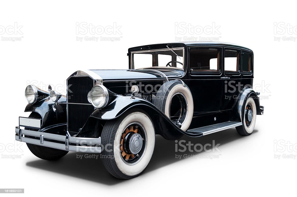 Luxurious 1930 Pierce Arrow royalty-free stock photo