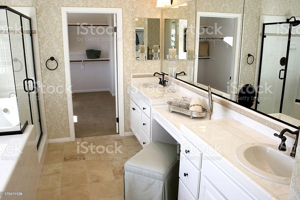 Luxurious Bathroom stock photo