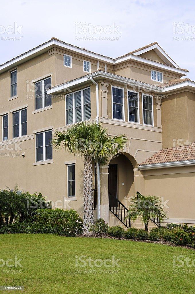 Luxurious Beach House stock photo