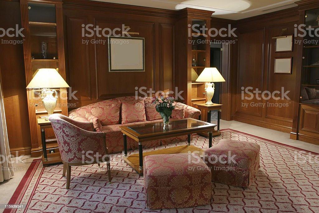 Luxurious Bedroom Decor royalty-free stock photo