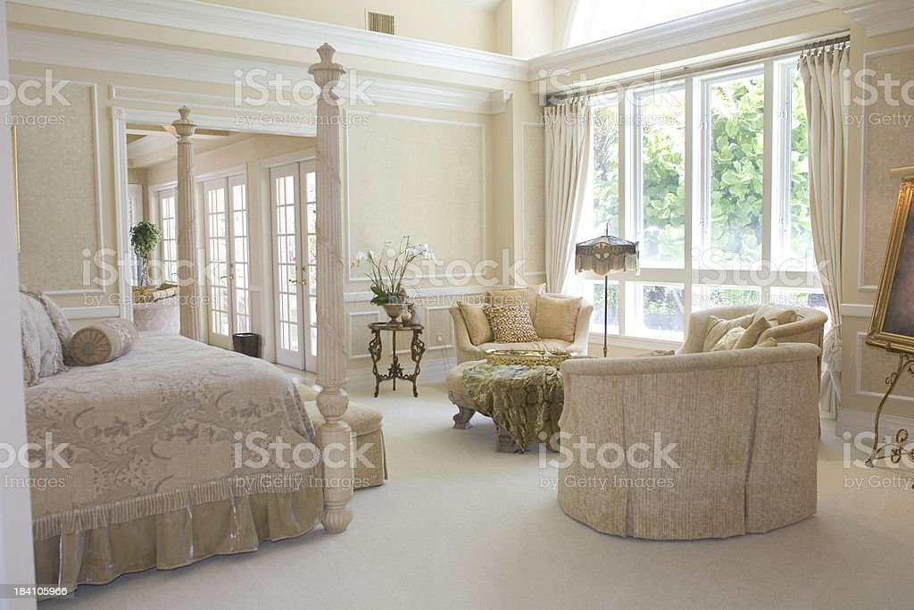 Luxurious Bedroom stock photo