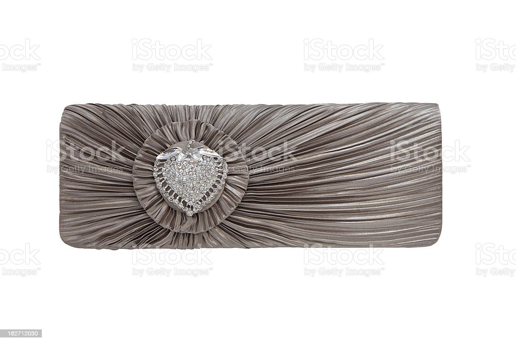 Luxurious clutch bag royalty-free stock photo