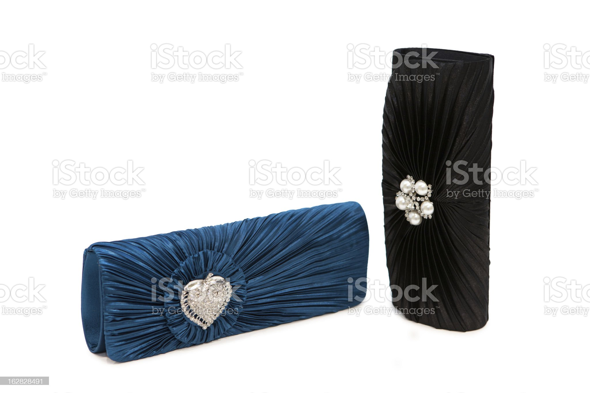 Luxurious clutch bags royalty-free stock photo