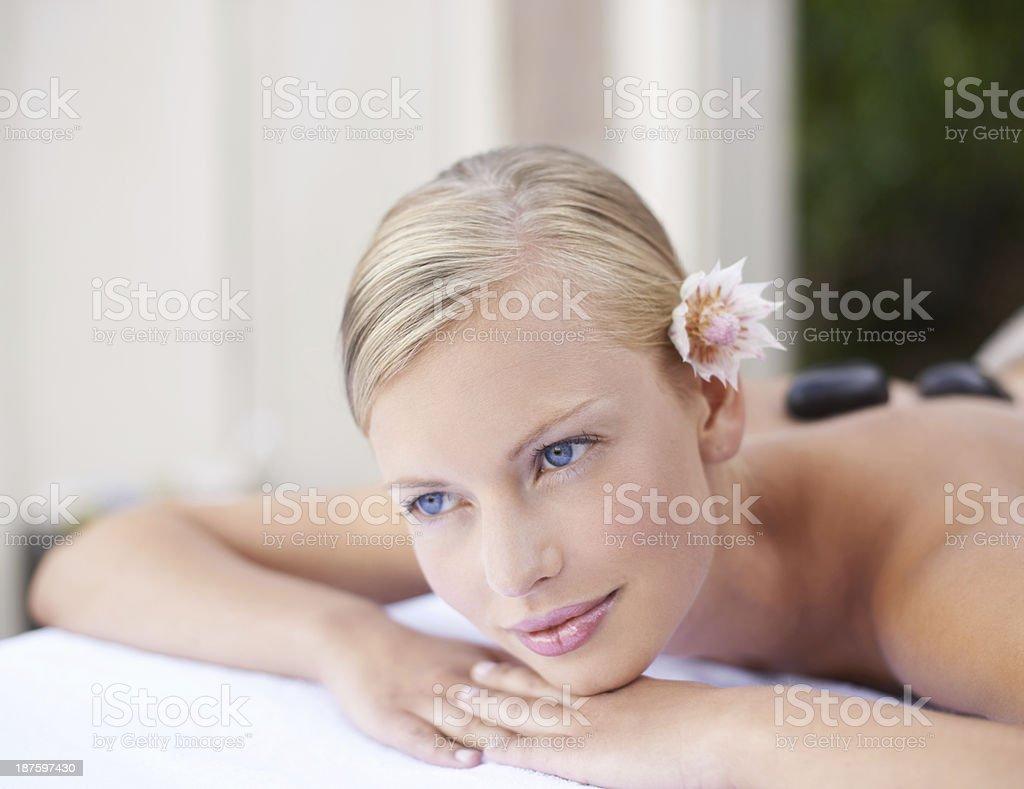 Luxurious comforts royalty-free stock photo